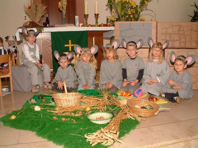 Berühmt Erntedank mit Kindergarten-Mäusen! @WN_36